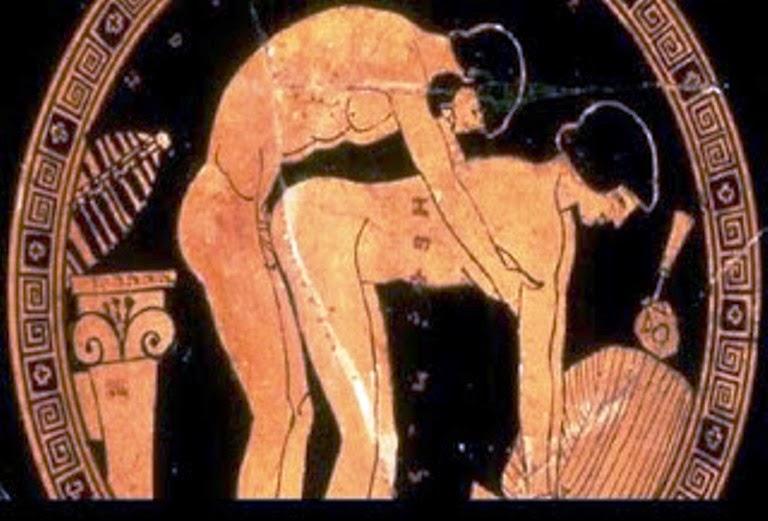 Ο μύθος της ομοφυλοφιλίας στην αρχαία Ελλάδα.